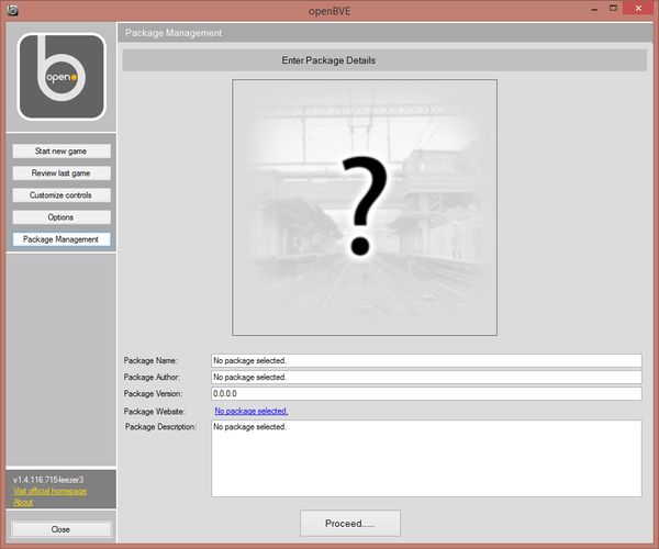 openBVE Packages Create2